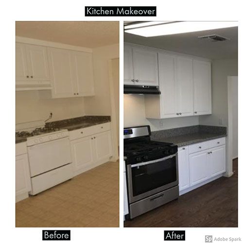 Kitchen 2 Transformation